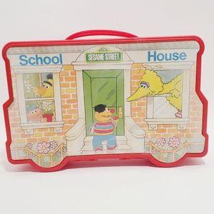 VTG Sesame Street School House Box
